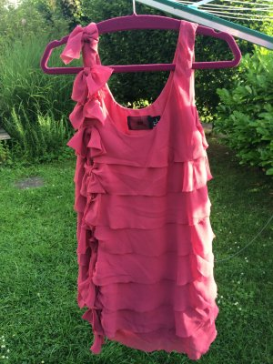 Rot/Pinkes Partykleid