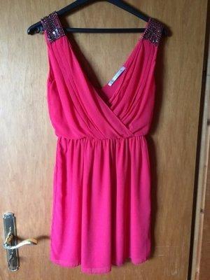 Rot/Pinkes schickes Kleid