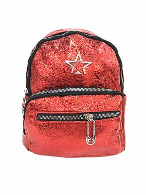 Mini sac à dos rouge-rouge brique