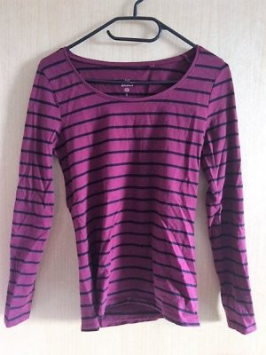 Rot-Schwarz-gestreiftes Basic-Shirt von C&A