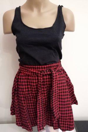 Skater Skirt black-red