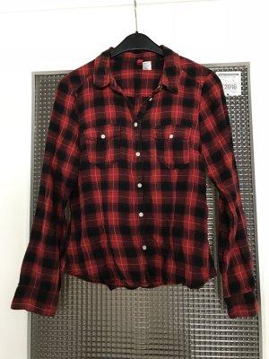Rot-schwarz kartiertes Hemd von H&M Gr.38
