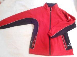 rot -schwarze Engelbert Strauß Trainingsjacke
