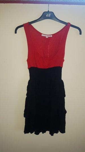 rot schwarzes Cocktailkleid von Tally Weijl