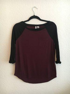 Rot/Schwarzes Shirt