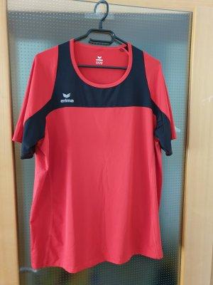 rot schwarzes Sport T-Shirt von Erima