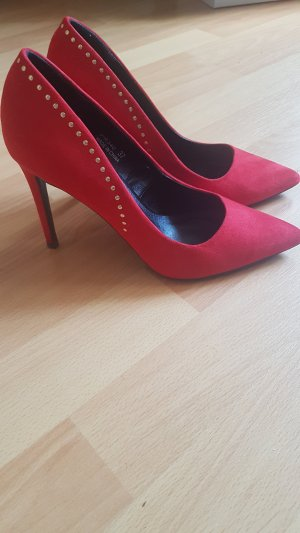 Rot sexy Rock pumps