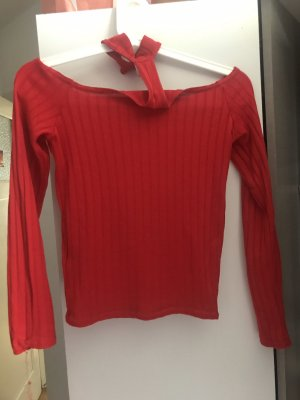 H&M Top lungo rosso