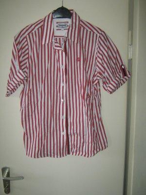 rot / weiß gestreifte Bluse