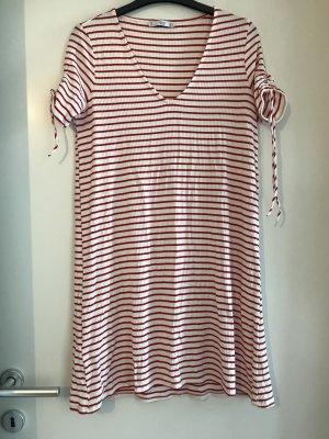 Rot Weiß gestreiftes Sommerkleid