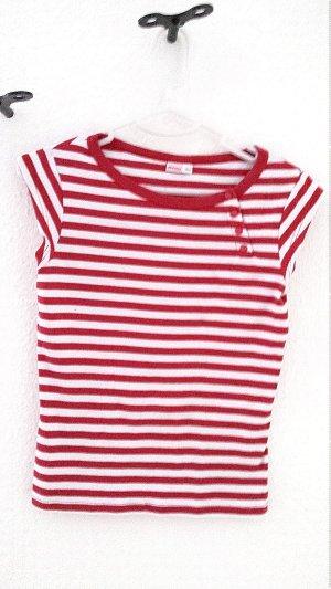 Rot-weiss gestreiftes T-Shirt, Gr. 34/36