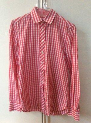 Rot-weiß karierte Bluse von Gant