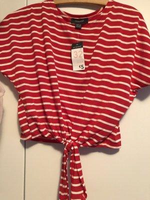 Rot/Weiß T-Shirt