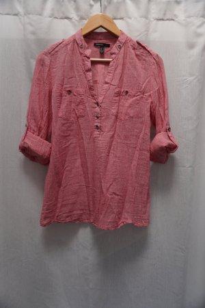rot-weiße Bluse Mango, Gr. S, sommerlich leicht, NP 29€