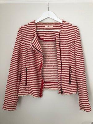 Rot-weiße Jacke/Blazer