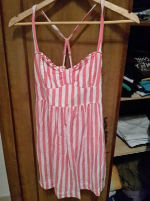 Rot-weißes Hollister Kleid