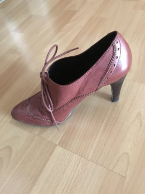 Görtz Lace-up Pumps cognac-coloured