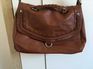 Rotbraune Tasche von Six