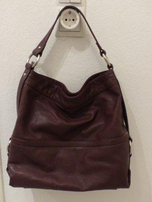 rotbrauner Shopper / Tasche von Fabiani - super Zustand