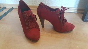 Graceland Scarpa stringata rosso mattone