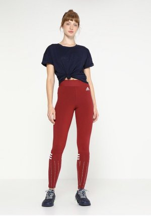 Rote Adidas Leggings