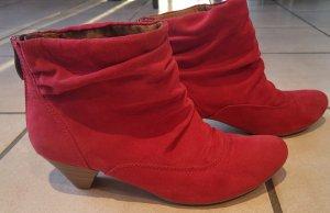 Rote Ankleboots, Stiefeletten in gr.38 von Tamaris