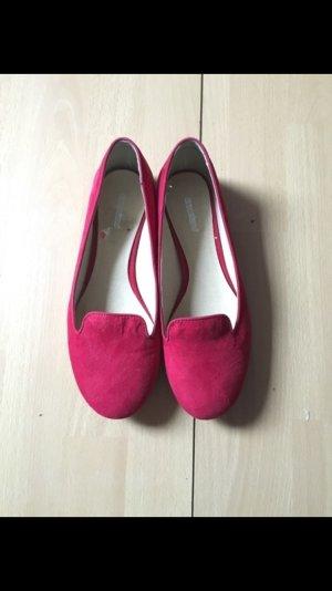 Rote Ballerinas - noch nie getragen !