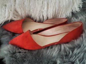 Rote Ballerinas - rot