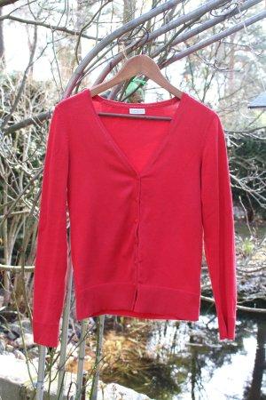 Rote basic Jacke mit Knöpfen von Street One