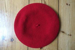 Rote Baskenmütze / Beret / Barett
