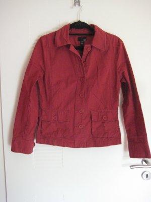 Rote Baumwolljacke von H&M