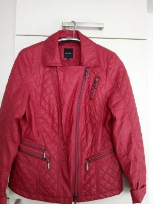 Rote Bikerjacke von Bonita Gr.40