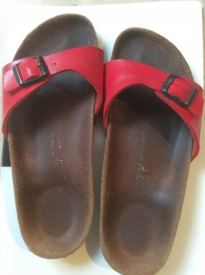 Birkenstock Shoes red