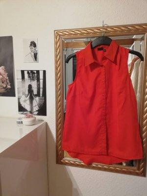 Bodyflirt Mouwloze blouse lichtrood