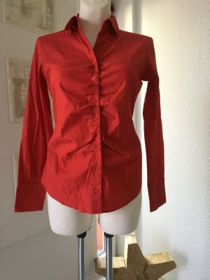 Rote Bluse * Esprit Collection* Gr. 38 gerafft