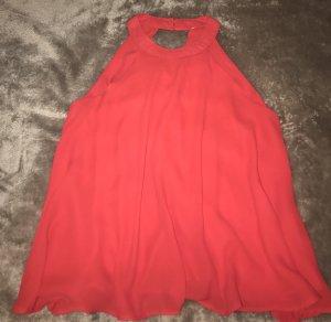 H&M Mouwloze blouse rood