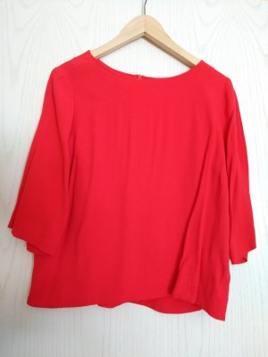 (The Mercer) NY Blouse Top bright red