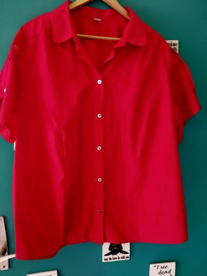 Camisa tipo túnica rojo
