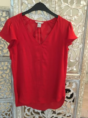 Rote Bluse H&M