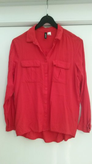 rote Bluse H&M Divided