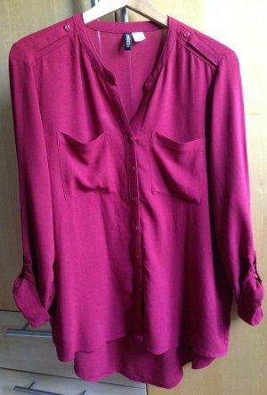 Rote Bluse H&M Größe 36