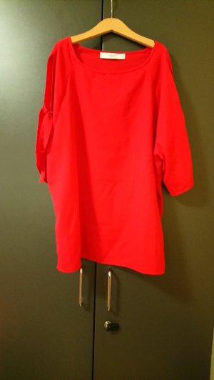 Rote Bluse Mango M