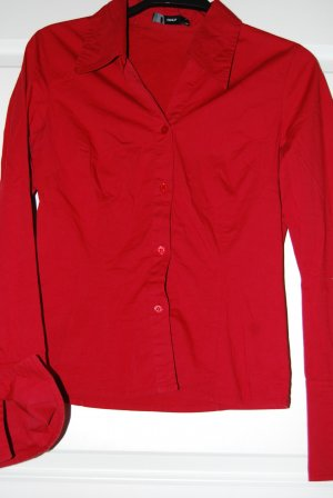 rote Bluse - Only - Gr. S - neuwertig