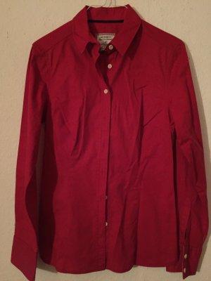 Rote Bluse Peckott 36