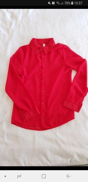 Rote Bluse S