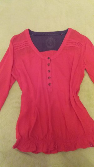 Rote Bluse von Esprit Gr. 38