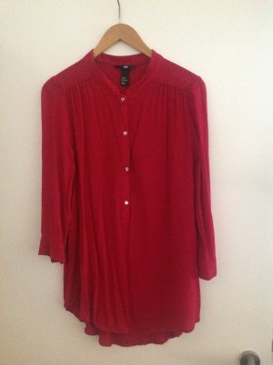 Rote Bluse von H&M aus 100% Viscose