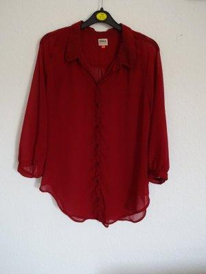 Rote Bluse von Only