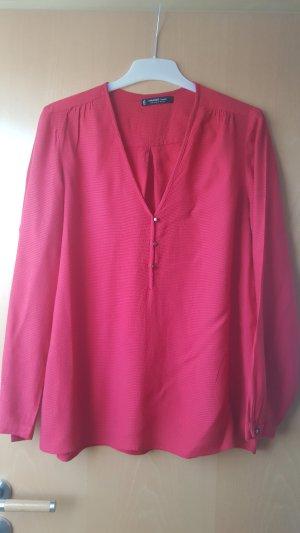 rote Bluse von Vero Moda