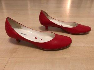 Bronx Escarpins Mary Jane rouge